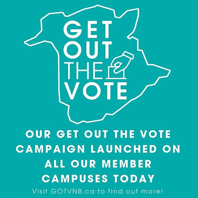 Our Get Out The Vote campaign has started on all of our member campuses today- make sure to check out their events and get all the info you need for your voice to be heard this election!