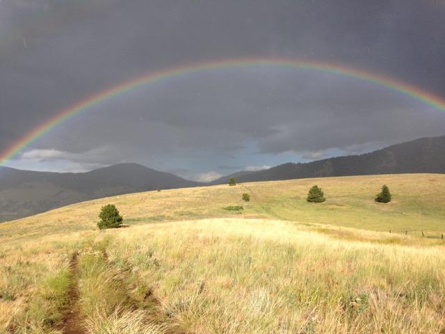 Rainbow over Missoula