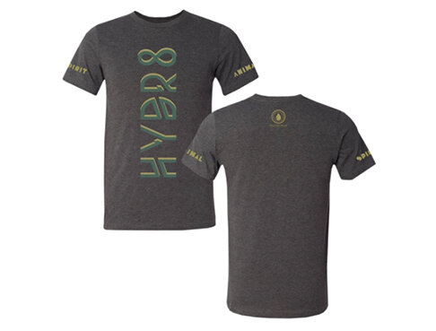HYDR8 ROLLED SLEEVE TEE - $30.00