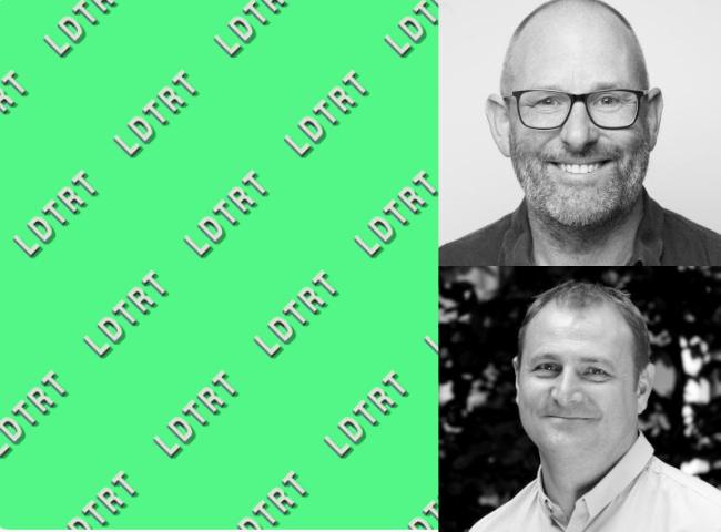 LDTRT Podcast. Photograph: Adam Hopkinson (above), Duncan Tickell (below)