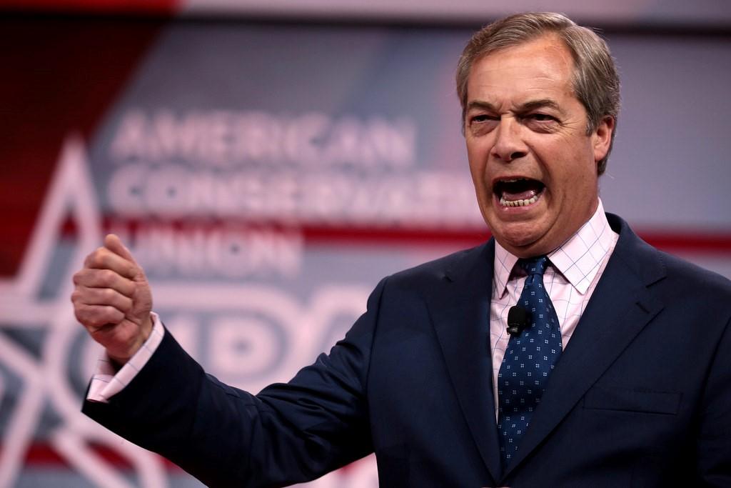 Photograph: Nigel Farage