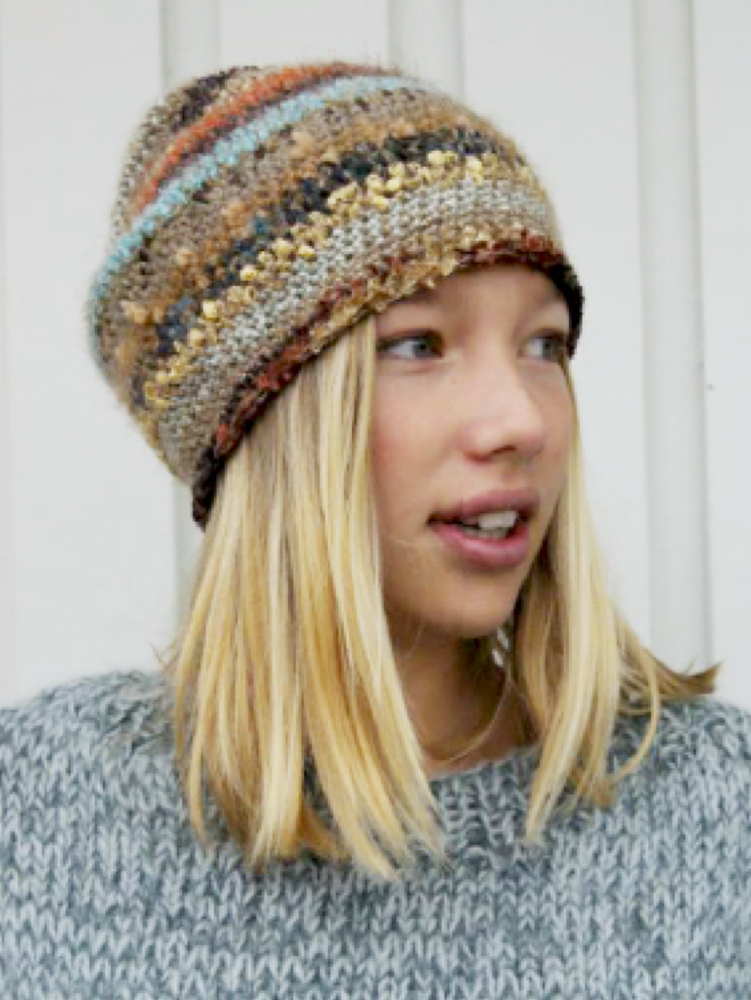 Swedish Crochet Beanie by KAKI i Are