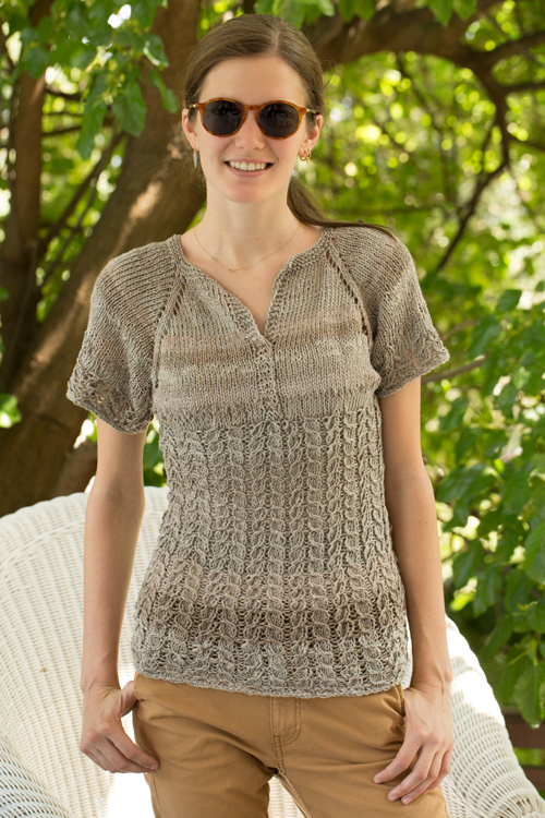 Butterfly Pullover by Nancy Riek