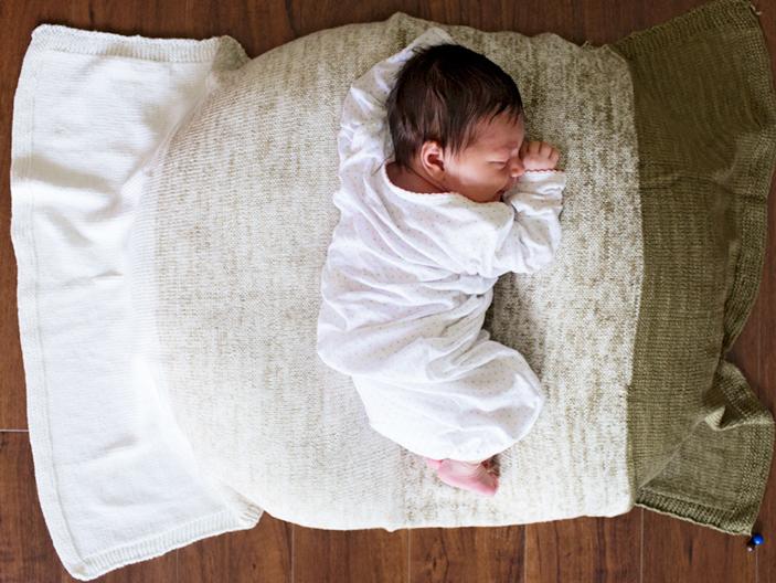 Baby Gradient Blanket