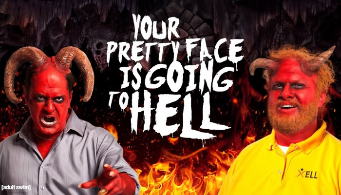 """""""Your Pretty Face is Going to Hell"""" Adult Swim"""