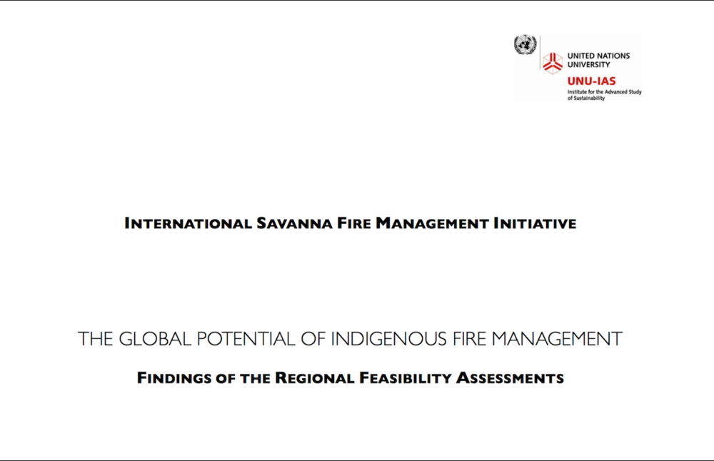 To establish global feasibility. - In its first phase, the ISFMI demonstrated the global feasibility of Indigenous Fire Management. Research demonstrated the shared histories of Indigenous fire management among Indigenous communities around the world. It identified the scientific method developed in northern Australia could be adapted for savanna and tropical dry forests of the world. The findings found that revitalising Indigenous Fire Management practices will benefit people, nature, climate and economies.