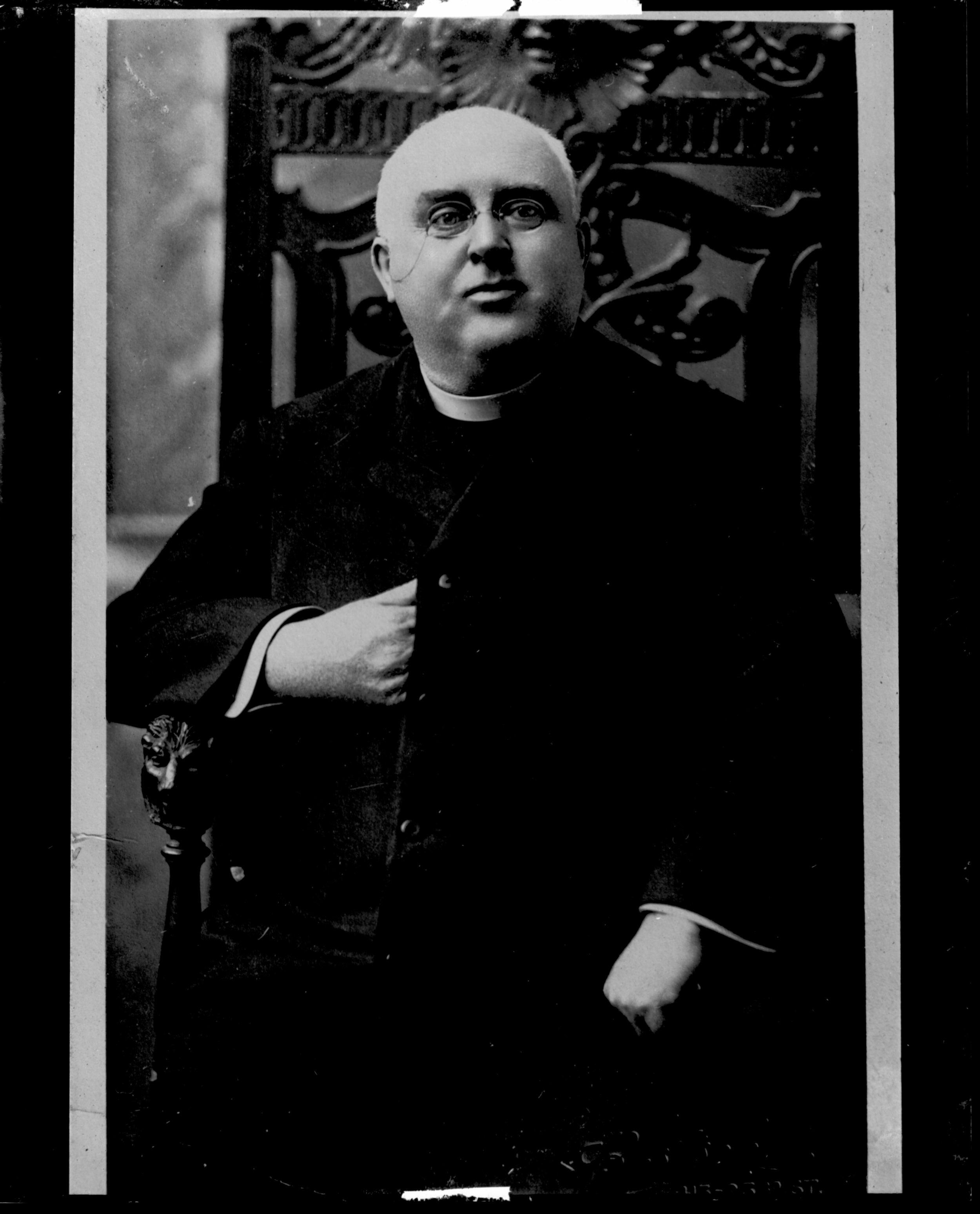Fr. John Fr. Lockney, founding pastor of Sacred Heart