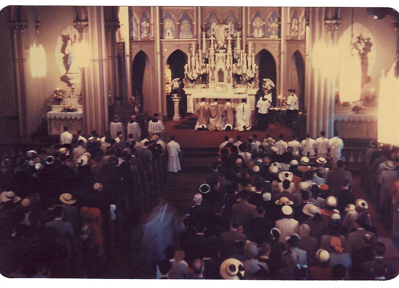 High Mass, pre-Vatican II
