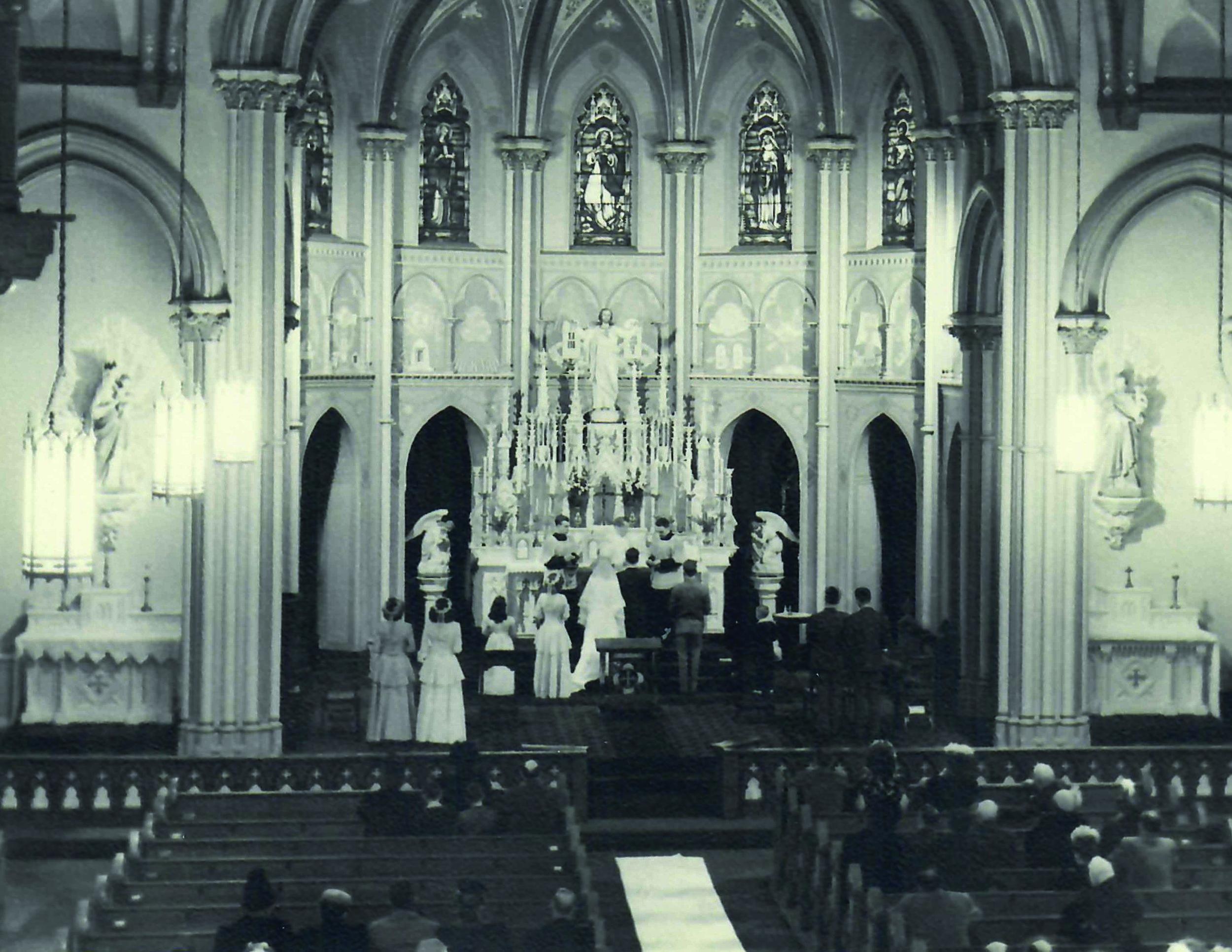 Donald & Catherine Neary wedding, 1948