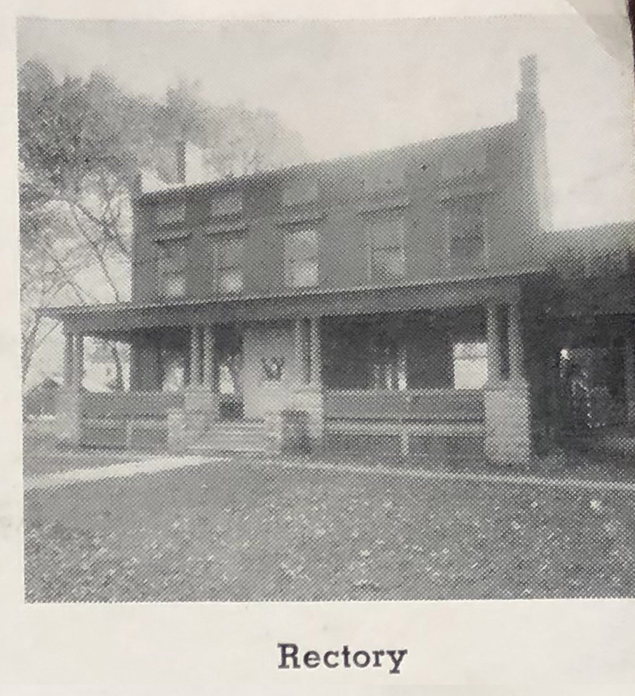 Sacred Heart Rectory, early photo.