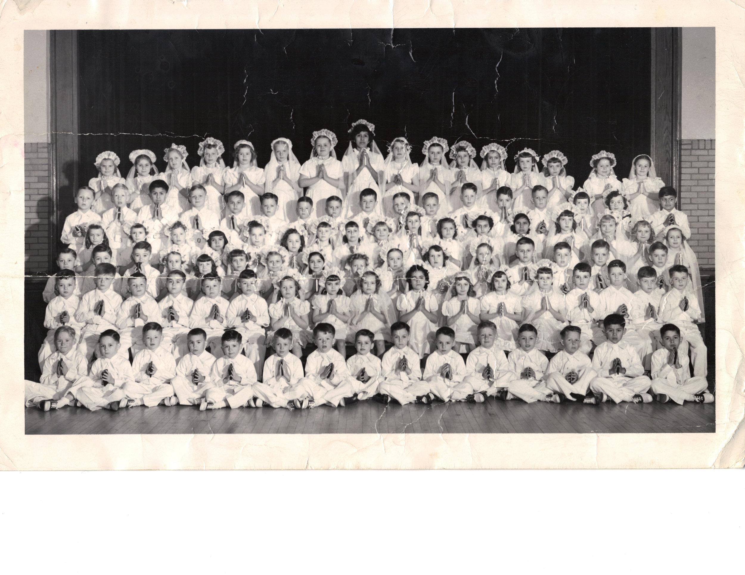 First Communion Class, 1950