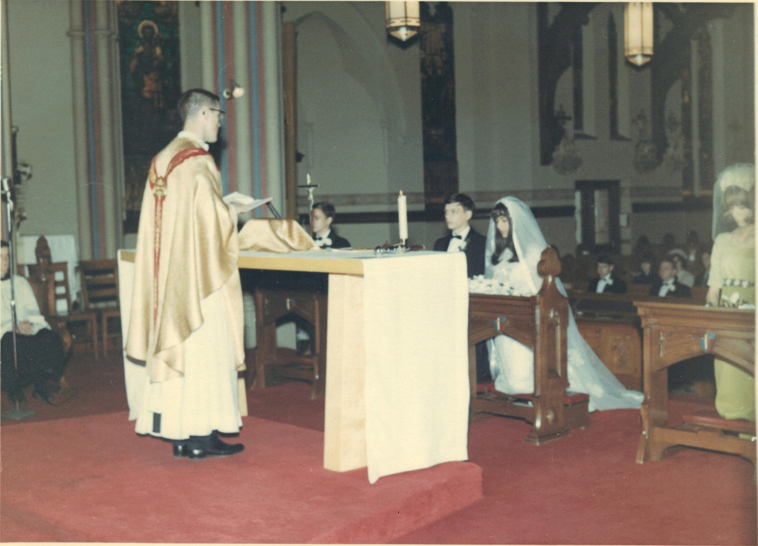 Wedding, late 1960's.