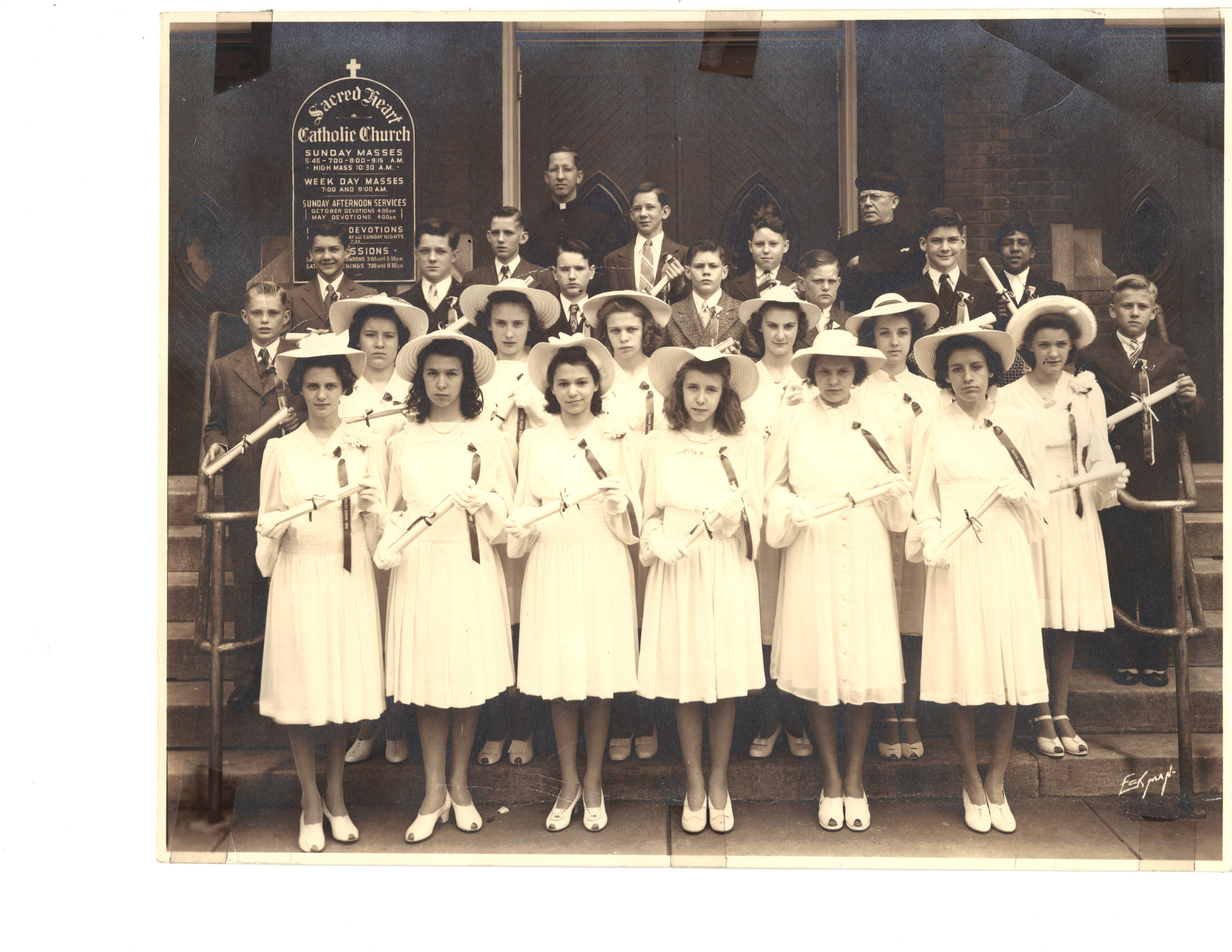 Grade School Graduation Class, 1942