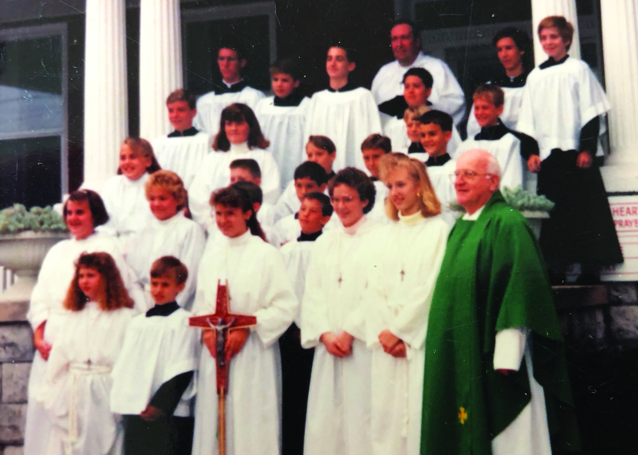 Altar Servers, early 90's