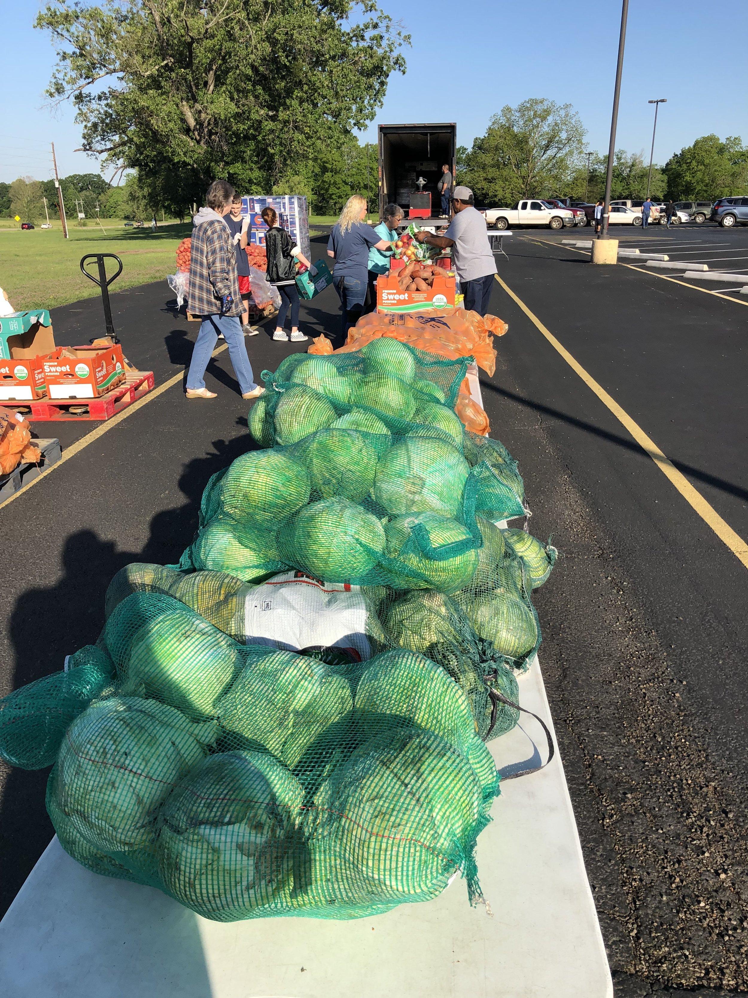 Food Bank Distribution -