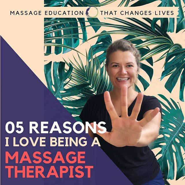 I want to know YOUR why, but first here are MINE. Tag a massage therapist who has a HUGE WHY 💪🏻 Even better, tag a friend who wants to become a massage therapist. ⠀ I love being a massage therapist, because: 1️⃣ I help people. Period. 2️⃣ I get to touch people for a living. Touch is an avenue to connect with people on a deeper level and to experience an energy exchange. 3️⃣ Touch is a universal language that supersedes any language barriers. 4️⃣ It is a career with endless learning potential (I may be biased, but if you've stopped learning in this profession it is your responsibility to self educate. The more you know, the more you realize you don't know). 5️⃣ I feel re-energized after almost every single treatment. The endorphins of treating haven't subsided much - and I believe this is because of the energy exchange that occurs (client feels happy, which is returned to the therapist). ⠀ What's your why? #massagefamTCL ⠀ #massagestudent⠀ #RMT #LMT #bodyworker #bodywork ⠀ #MBLEX #OSCE #CMT⠀ #massagetherapist #massagetherapy #massagestudent #massageschool⠀ #massagetherapylife #massagelife #massagebusiness⠀ #registeredmassagetherapist #licensedmassagetherapist⠀ #therapeuticmassage #remedialmassage⠀ #massagebusinesstips #massagemarketing⠀ #massageeducation