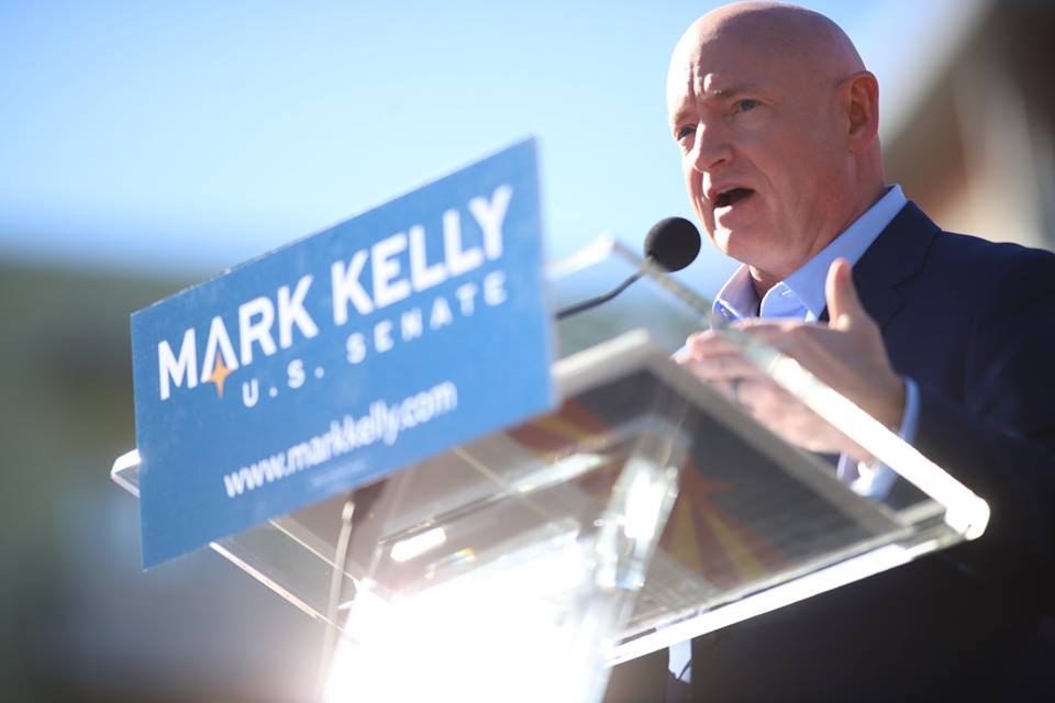 """""""Mark Kelly's yearslong corporate speaking tour clashes with 'no corporate PAC money' pledge"""" - -The Intercept"""