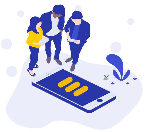 Vous perdez du temps à courir après vos collaborateurs ? - Kraaft transforme n'importe quel smartphone ou tablette en talkie-walkie pour communiquer instantanément entre équipes. Vous gagnez 15%* de votre journée en arrêtant de courir après vos collègues et devenez plus réactif. (*Etude in situ client)