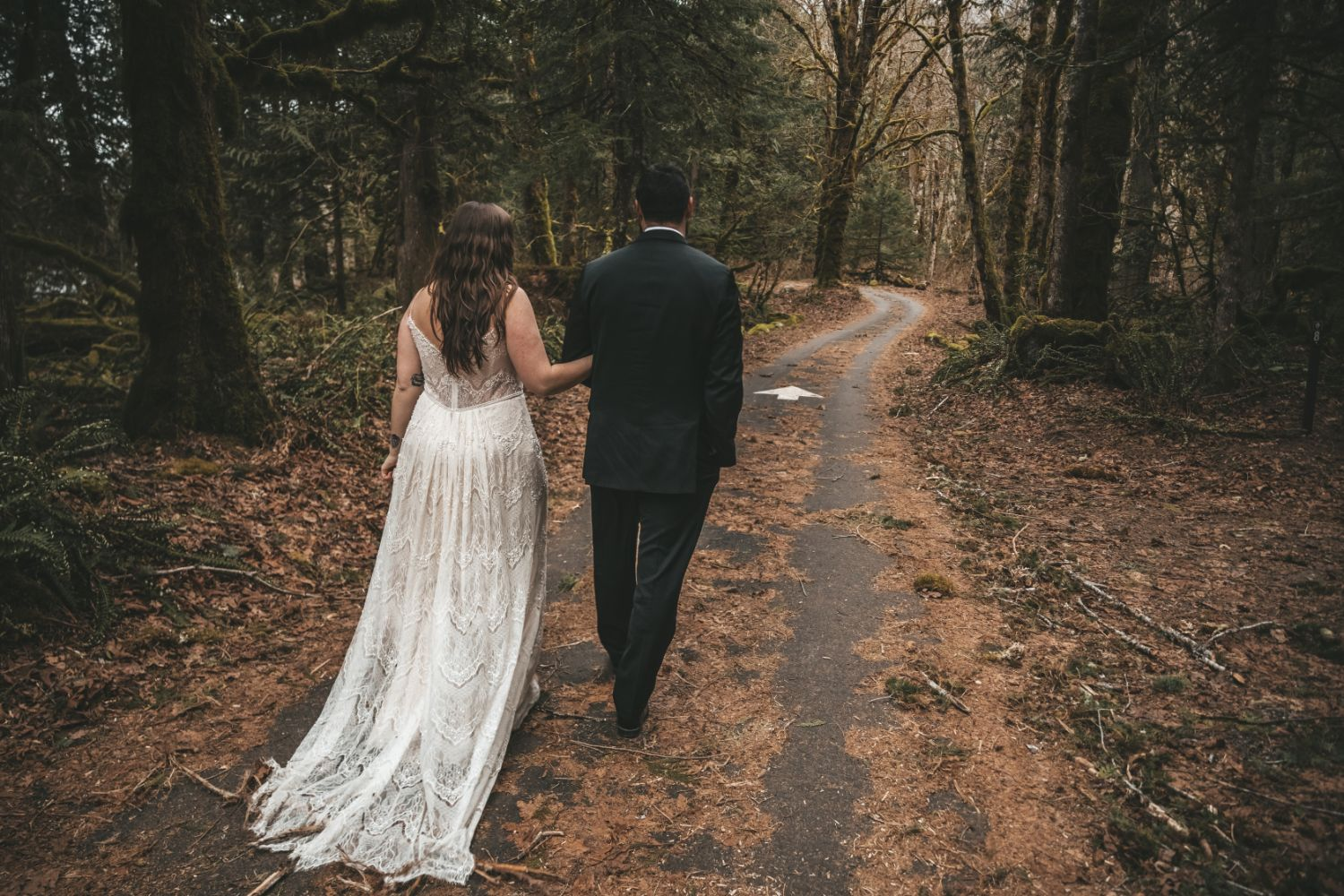 couple-walks-forest