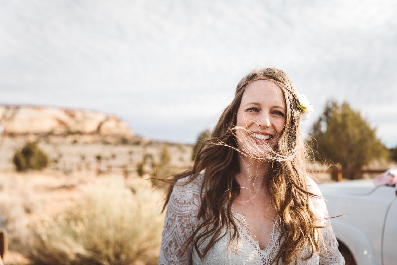 bride-Utah-desert-elopement