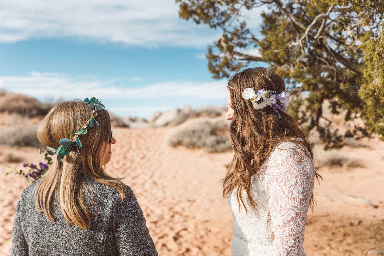 bride-walks-sand-aisle-utah-desert-adventure-wedding