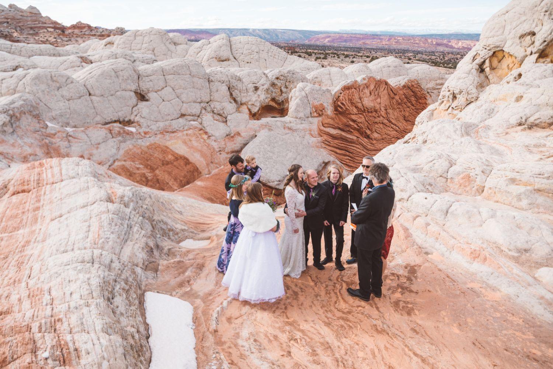 bridal-party-utah-desert-elopement
