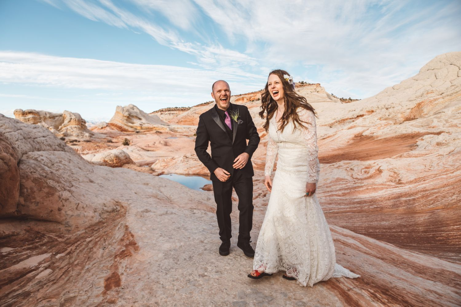 bride-groom-get-married-utah-elopement