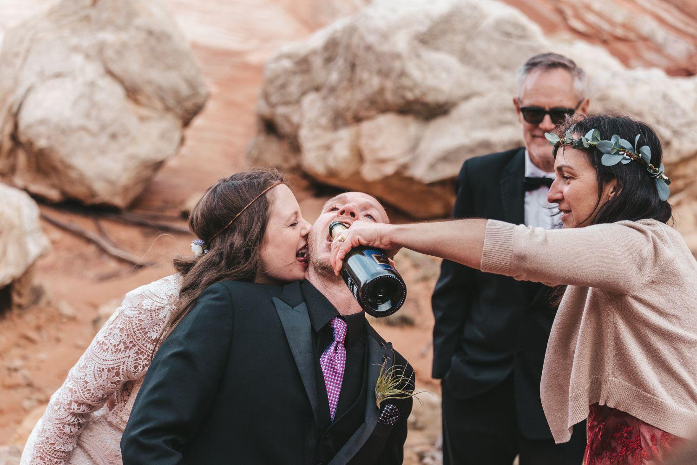 groom-drinks-champange