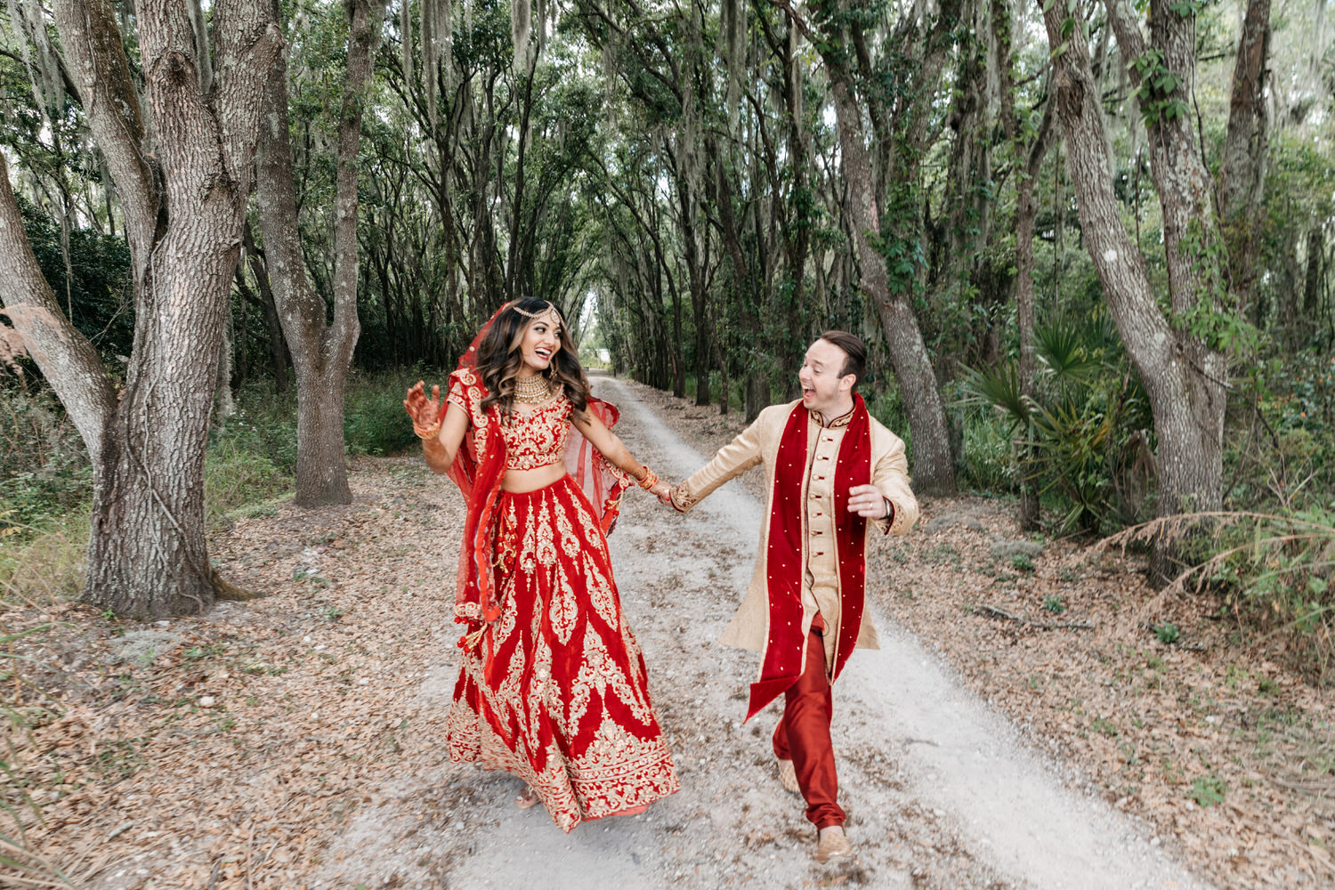 Couple-at-adventure-wedding