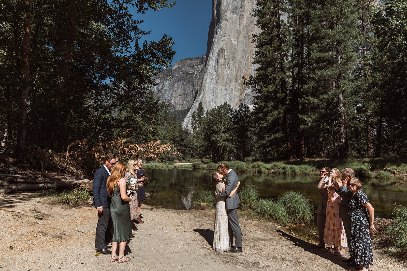 bridal-party-yosemite-california