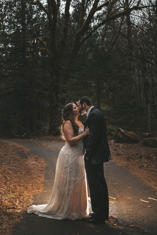 bride-groom-forest-elopement