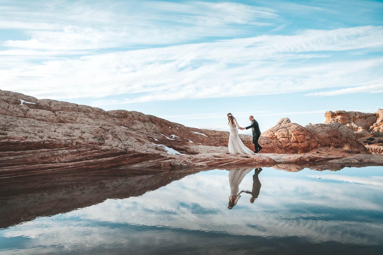 wedding-reflection-utah