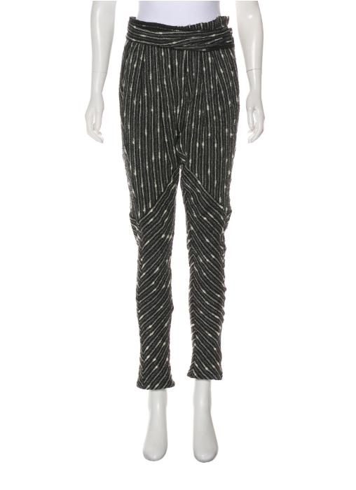 High-Rise Wool Pants $48