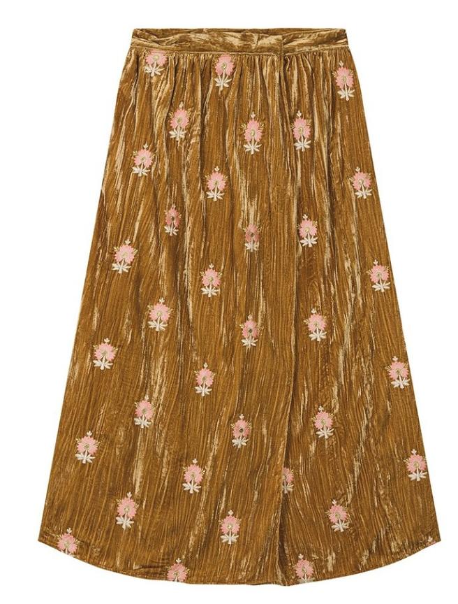 Velvet Skirt $154
