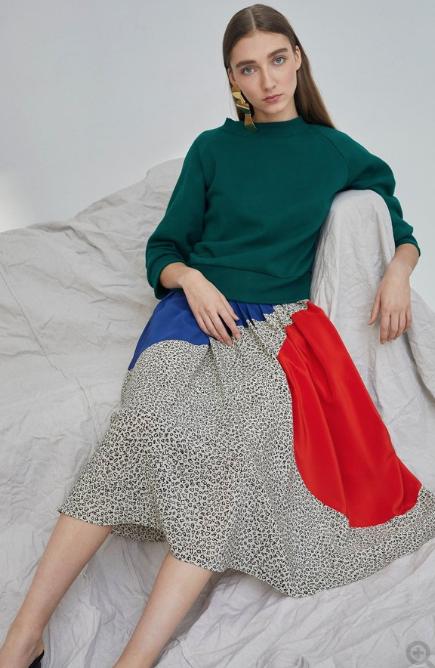 Silk Skirt $142