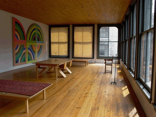 Inspiration - We looked to artists and leaders whose practices revolve around everyday living. Everyone from Donald Judd to Martha Stewart.