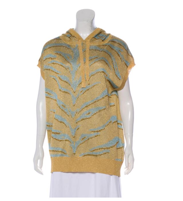 Wool Metallic Sweatshirt  $37.50