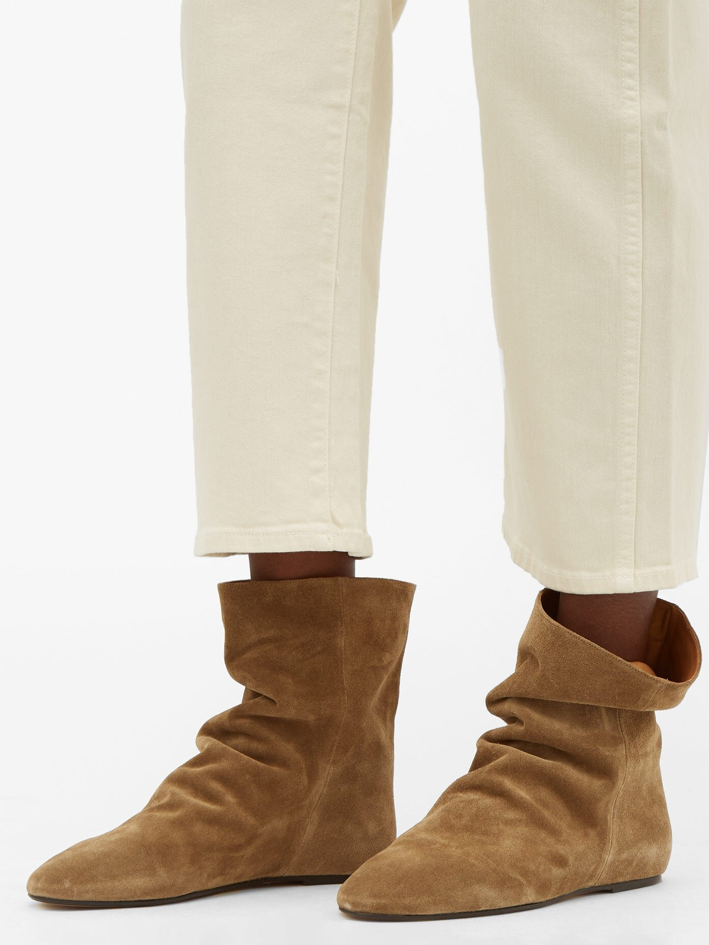 Isabel Marant Rullee slouched boots$625