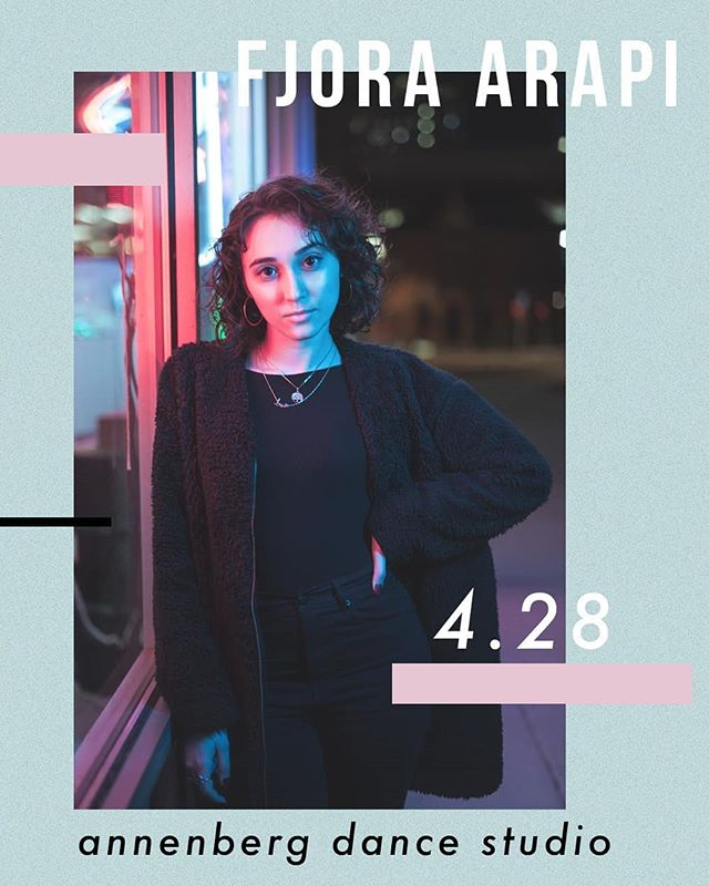 Closing out our spring workshop series is @fjoraarapi !!! She'll be teaching an awesome heels piece TODAY at 4PM IN ANNENBERG. come on out and support her and our final workshop of the year