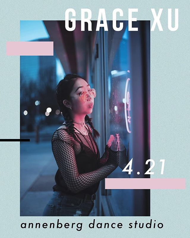 Our spring workshop series continues TODAY AT 4 with @amazingishgrace. Be sure to head over to Annenberg if you're interested in learning her emotional contemp piece!!!