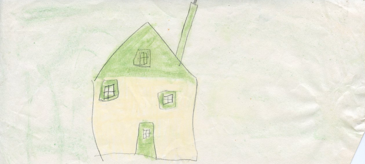 'House' by the author, circa 1963.