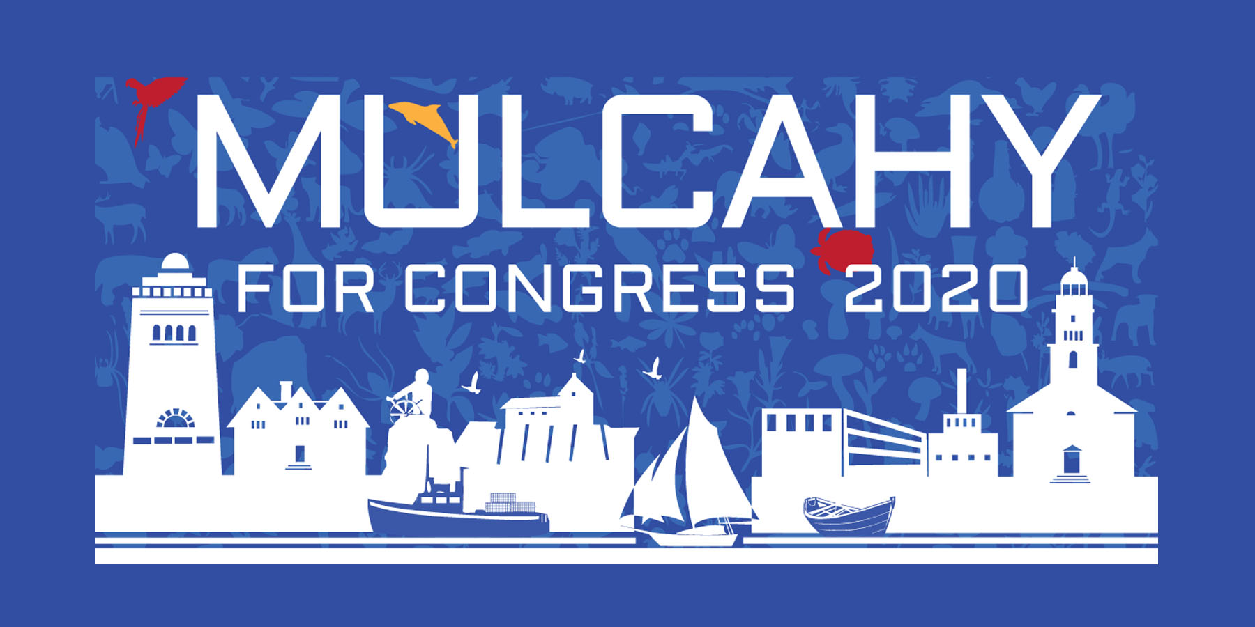 """Mulcahy for Congress 2020"" section of campaign image"