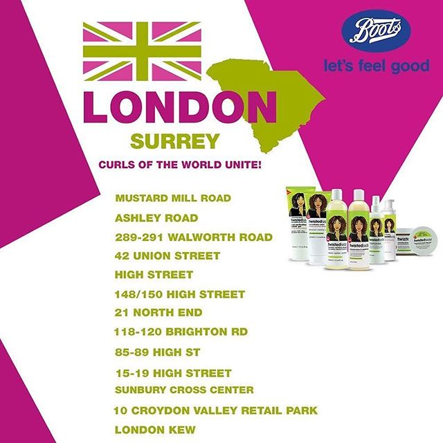 🇬🇧🥥🥑Twisted Sista products are now available at these @bootsuk locations! Shop today!⠀ *⠀ *⠀ *⠀ 💚⭐️☝🏽CLICK LINK IN BIO TO BUY NOW! Or visit: www.twistedsista.com⠀ *⠀ *⠀ *⠀ ⠀ #twistedsista #haircare  #conditioner #bestshampoo #essentials #naturalistas #avocadooil  #edgegel #hydrate #moisturize #hair #girlboss #stronghair ⠀ #healthyhair #beautifulskin #curlsoftheworldunite #avocadooil #naturalhair #naturalcurls #coconutoil #curlyvibes #curlyhair #shinyhair #almondoil #nourishment #thickhair #hairgrowth #sulfatefree #global