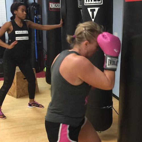 Kickboxing - There's no better way to keep your heart racing and your muscles moving - all while perfecting your striking and self defense skills - than with our Kickboxing Classes in Richmond.