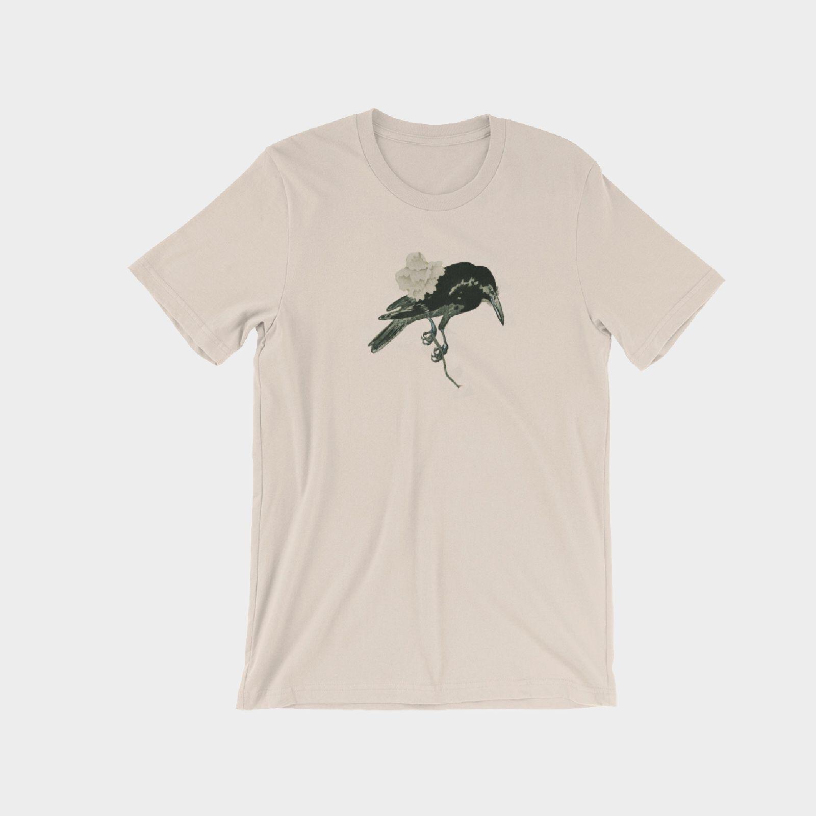 crow flies on gray.JPG