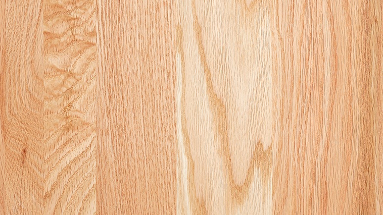 OAK   Oak offers depth in color from pink to white and light brown. In addition, green, yellow and even black color veins may appear as mineral streaks. Oak is also known for its wide and narrow grain patterns that are considered desirable qualities of this strong, open-grained American classic.