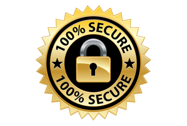 Secured Payment - All of our online transactions are secured on line by SSL so your transaction is safe.