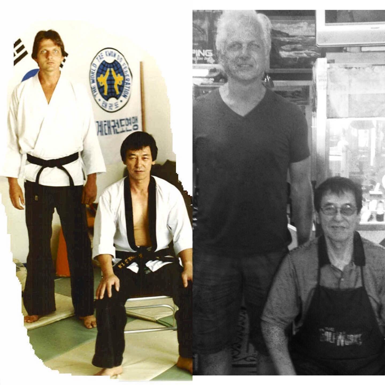 Through the years: Grandmaster Wheaton and Grandmaster Hong