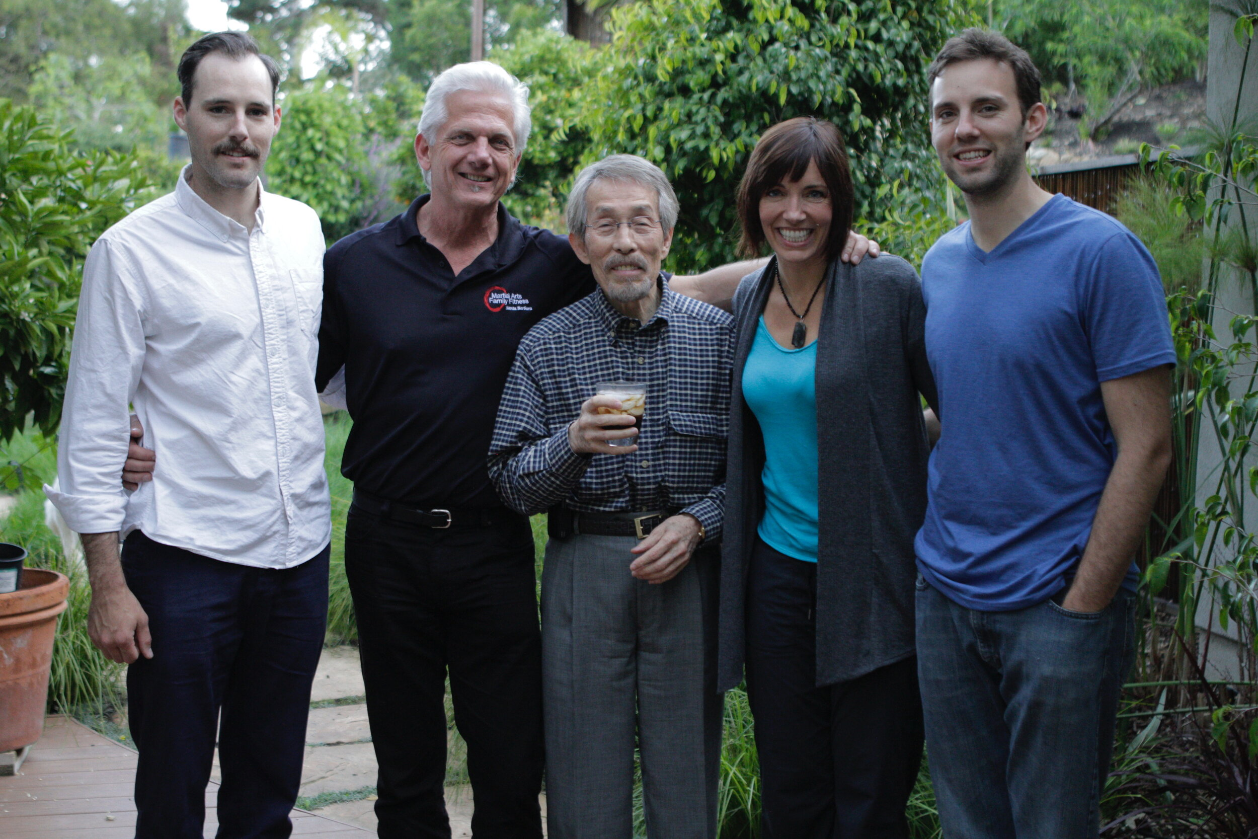 From left: Master Garret, GM Dave, GM Yi, Master Mel, Master Austin