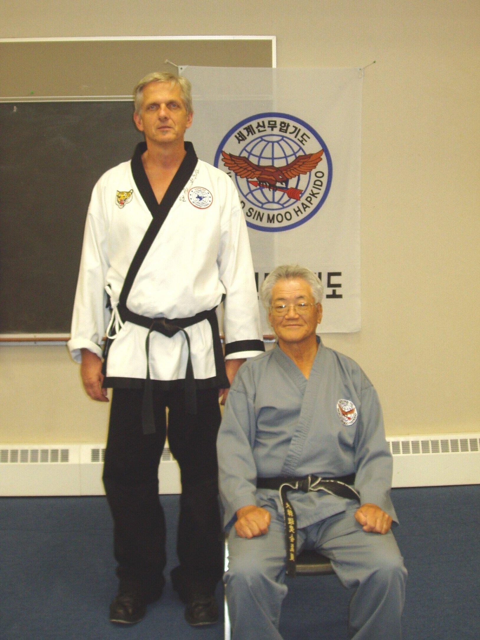 Grandmaster Dave and Dojunim Ji Han Jae